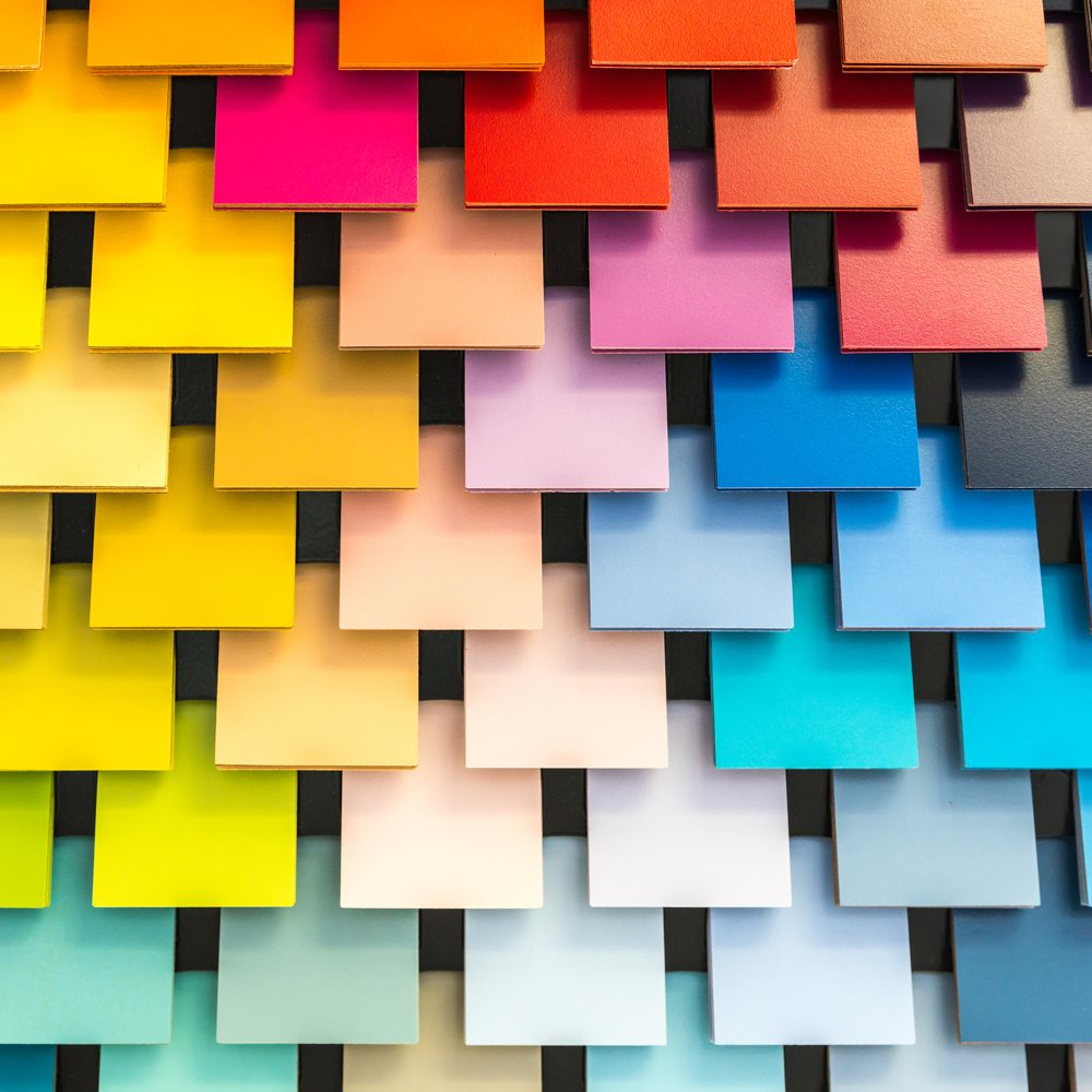 158 TREU kleuren print pantone
