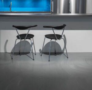 Gietvloer artificial keuken